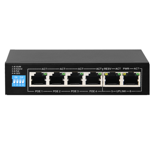 Switch PoE - SF-SW0604POE-60